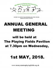 Annual General Meeting for the WMPFA