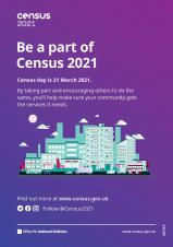 Be part of Census 2021